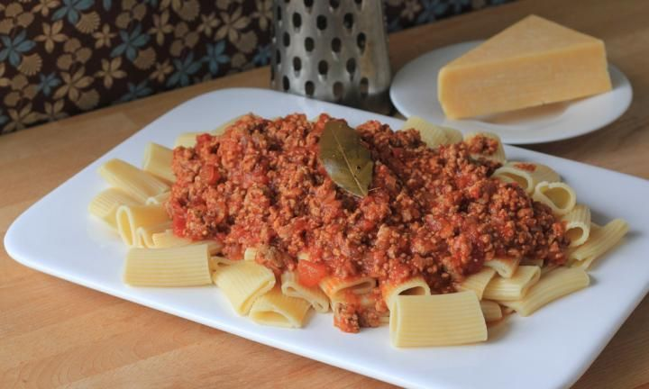Pork and veal bolognaise