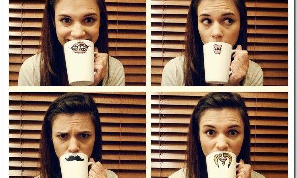 40 Creative Coffee Mug Painting Ideas 2