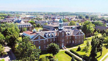 St. Francis Xavier University in Antigonish, Nova Scotia