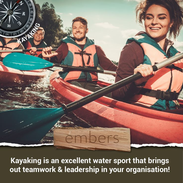 """Nothing says """"let's work together"""" like an epic group kayaking activity! Make a booking for your next corporate team building event! Find out more here: http://bit.ly/2jTZVj3."""