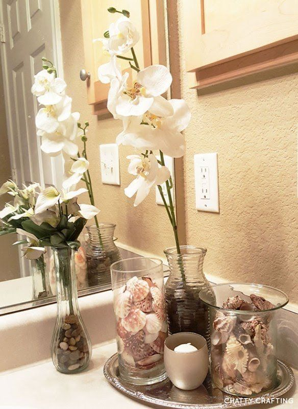 Images Photos It us possible for you to freshen up your bathroom decor with the addition of a favourite plant or flower Nautical bathroom decor is the simplest and most