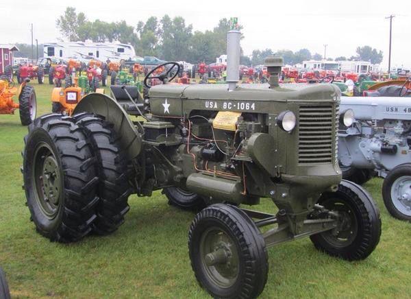 Minneapolis Moline Army rig