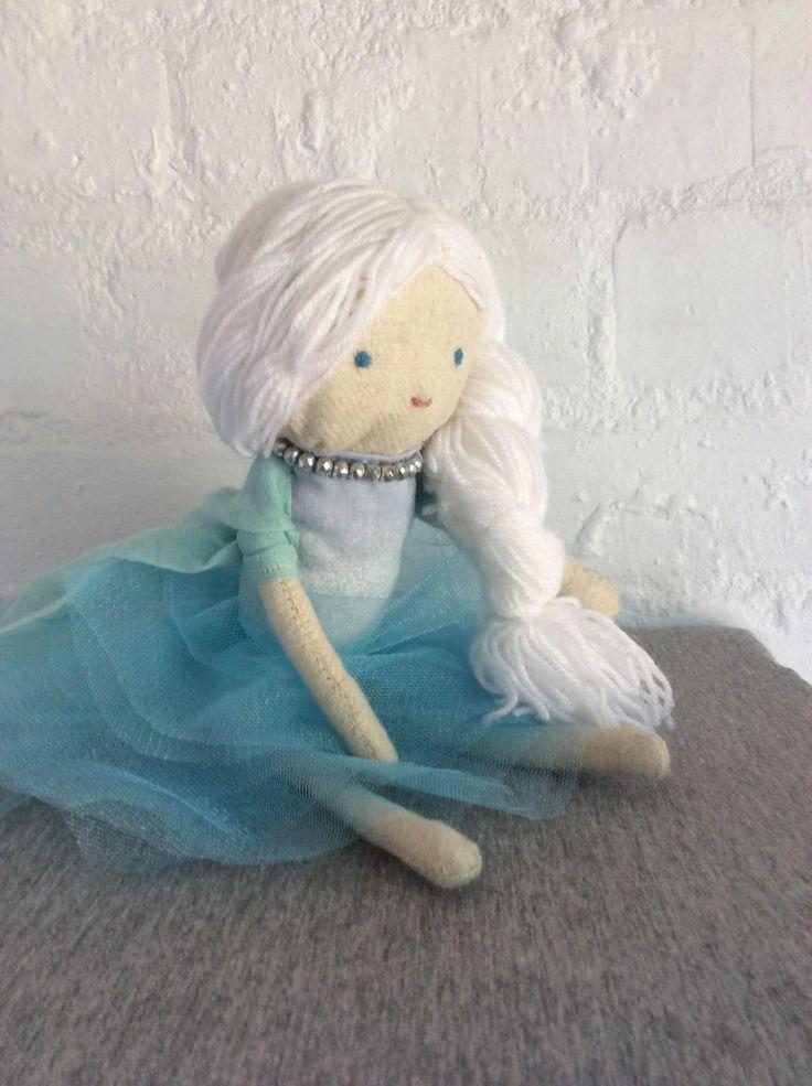 Elsa Doll by Poprikot on Etsy