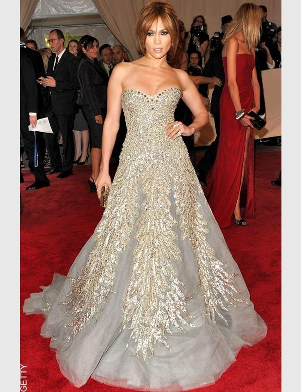 Jennifer Lopez in Zuhair Murad, The MET Ball, 2010