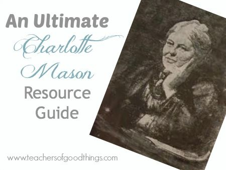 The Ultimate list of Charlotte Mason Resources. You need this!