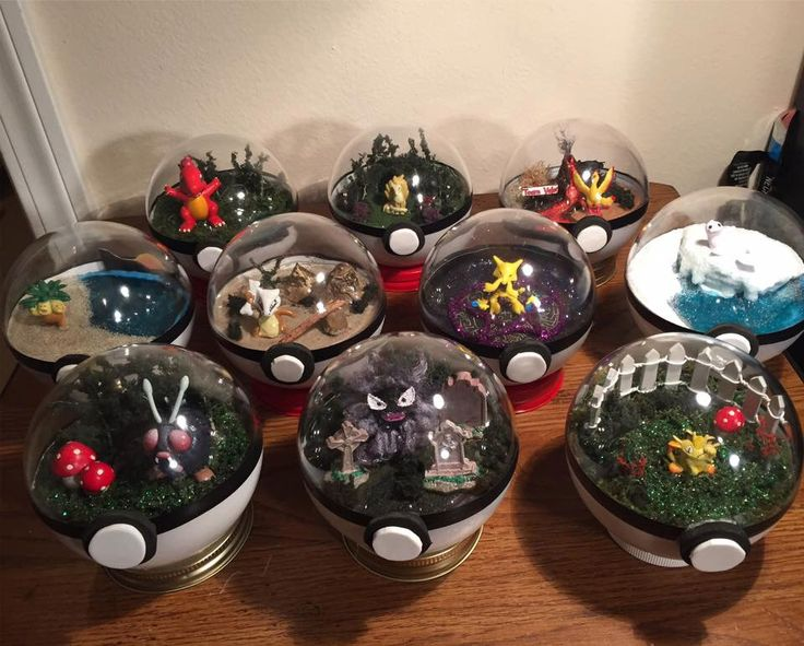 Custom Character Pokemon Terrarium - Choice of Character! by PopCultureChristmaCo on Etsy https://www.etsy.com/au/listing/481857935/custom-character-pokemon-terrarium