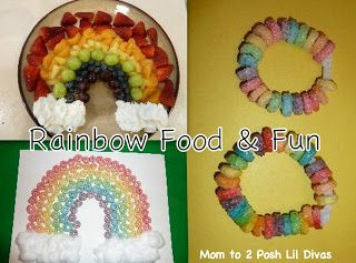 Rainbow Themed Snacks & Fun with Froot Loop Activities