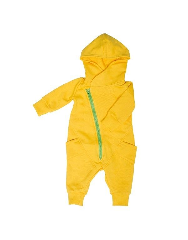 Gugguu SS14: College jumpsuit (yellow) (86-116cm)