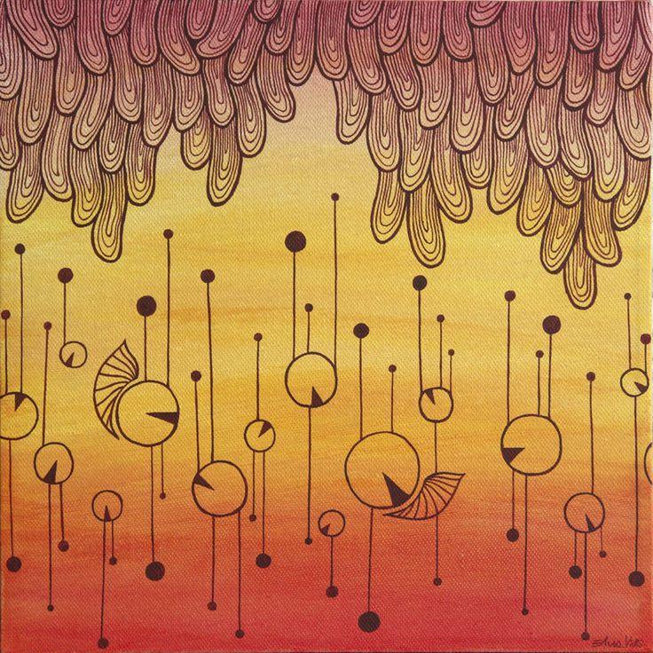 Pittura   Elisa Viotto   reddy   acrylic on canvas