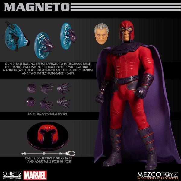 Картинки по запросу One:12 Collective Figures - Marvel - Magneto