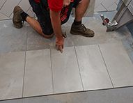 Lay floor tiles, bunnings