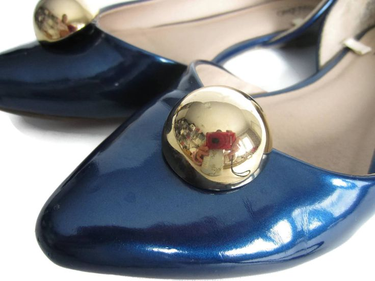Gold Shoe Clips, Classy Shoe Buttons, Dome Jewel Clip On Shoes, Gold Bubble Shoe Clips, Golden Shoe Clips, Dot Shoe Clips, Shoe Accessories by ShoesNChampagne on Etsy