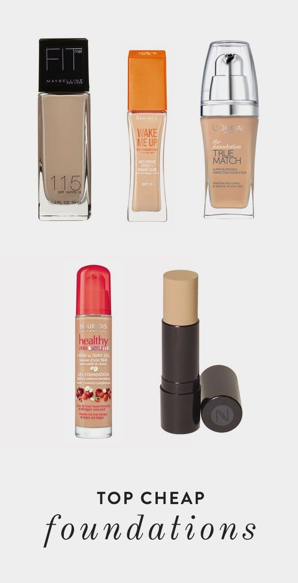 Top Cheap Foundations   The Daily Mark