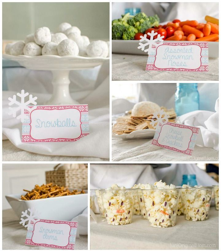 Winter ONEderland First Birthday Party - unOriginal Mom                                                                                                                                                                                 More
