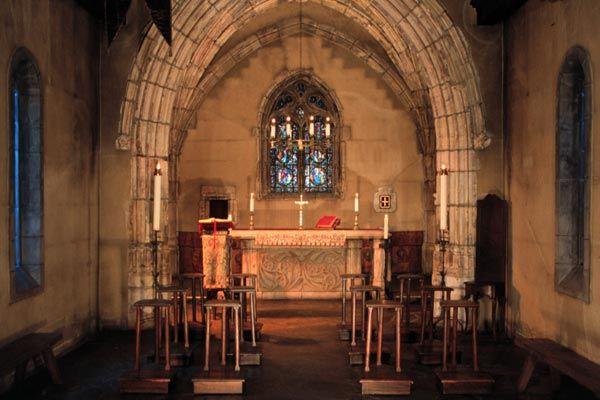 Joan of Arc Chapel. Marquette University, Milwaukee, Wisconsin.