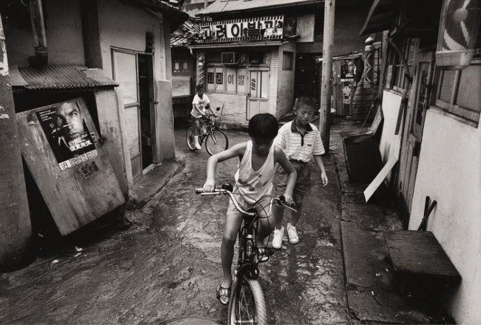 김기찬, 서울 중림동, 1990.8