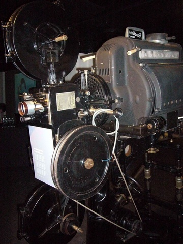 Simplex Peerless 35mm Projector - Frances Spiegel (2012) With Kind Permission From London Film Museum
