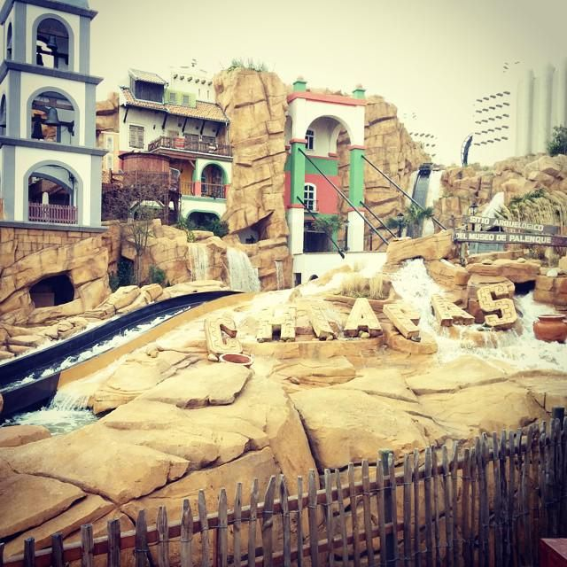 The new and beautiful Chiapas #chiapas #phantasialand #waterride #themepark