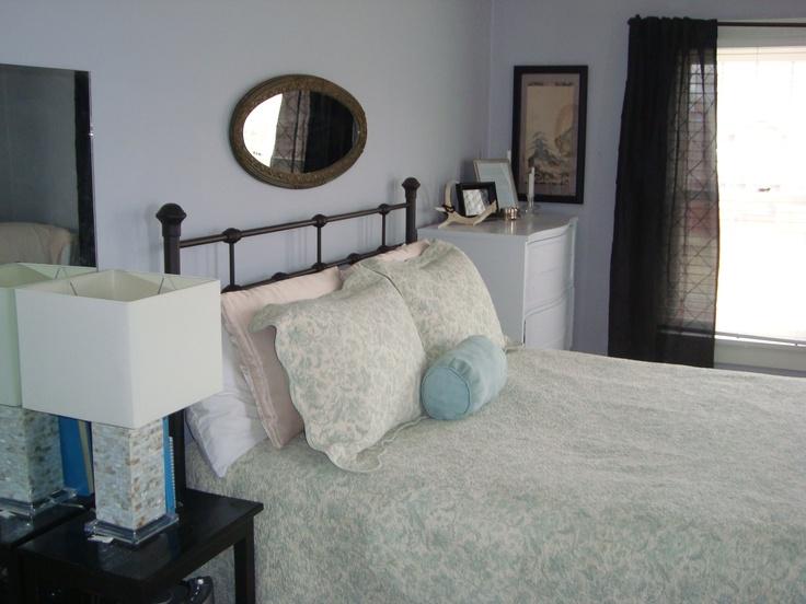 Misty Memories Grayish Lavender Wall Decor Bedroom