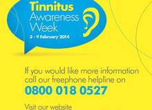 February 3-9 is Tinnitus Awareness Week in the UK. Go to www.healthaware.org for link to more information.