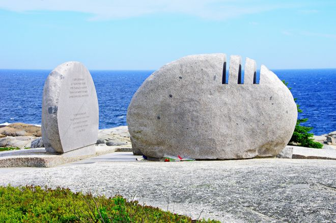 Swiss Air Memorial for Flight 111 near Peggy's Cove