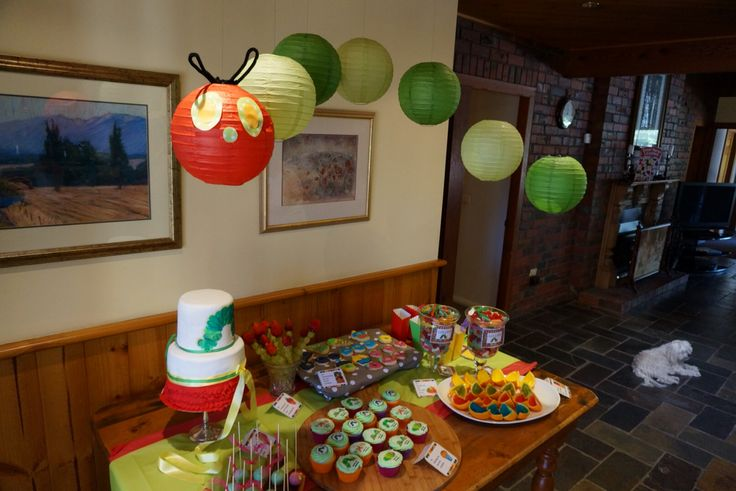 The Hungry Caterpillar Party. Candy Buffet. @shanschlotts