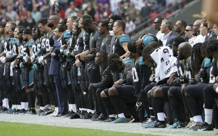 President Donald Trump has done the NFL a favor by at least temporarily distracting us from all that's wrong with the game of football.