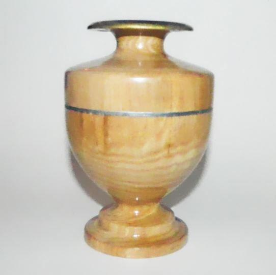 Деревянная ваза, декор для дома, как ваза для интерьера, ваза для романтического вечера, ваза для цветка для романтического ужина