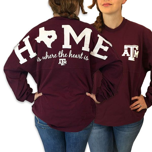 Details: Celebrate your Texas fandom with this Logo Sweeper long sleeve tee! This spirited Jersey T-shirt features printed A&M graphics for a spirited look. Shop for your favorite NCAA gear at SimplyC