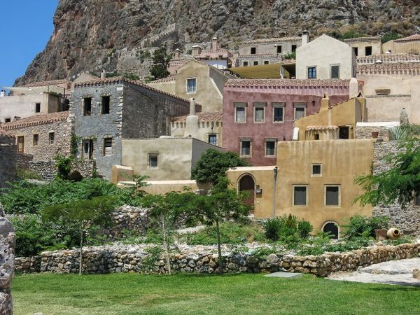 Houses in the Castle Town of Monemvasia