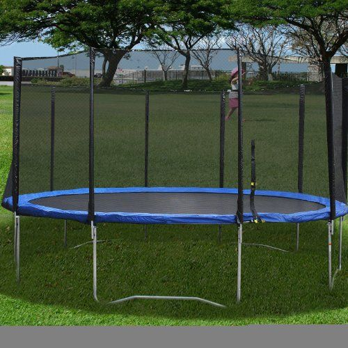 New 14ft Trampoline Combo Bounce Jump Safety Enclosure Net: Best 25+ 16ft Trampoline Ideas On Pinterest
