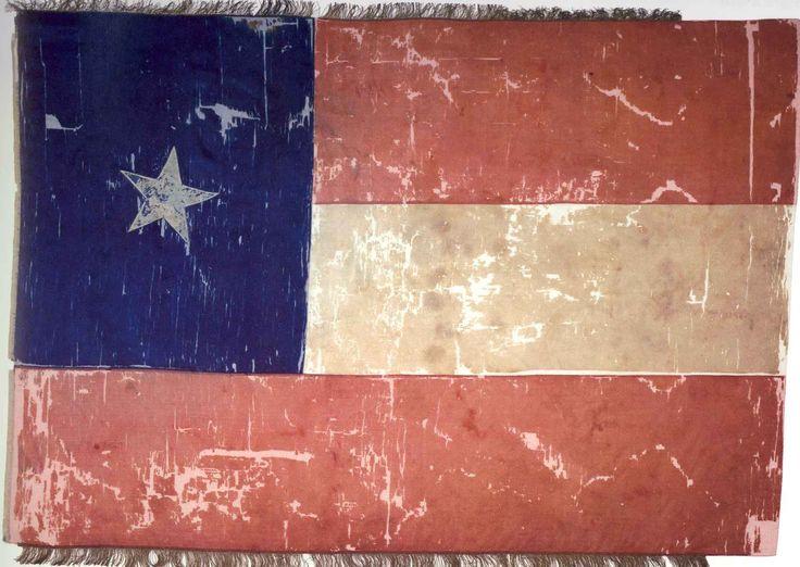 Flag of the 5th Texas Volunteer Infantry Regiment of Hood's Texas Brigade.