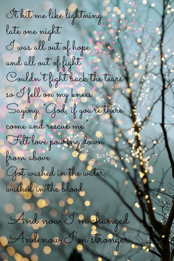something in the water - carrie underwood lyrics this song sends shivers down my spine a tears in my eyes I love it