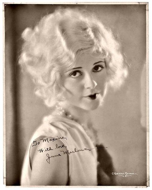 June Marlowe, 1920s | More on the myLusciousLife blog: www.mylusciouslife.com