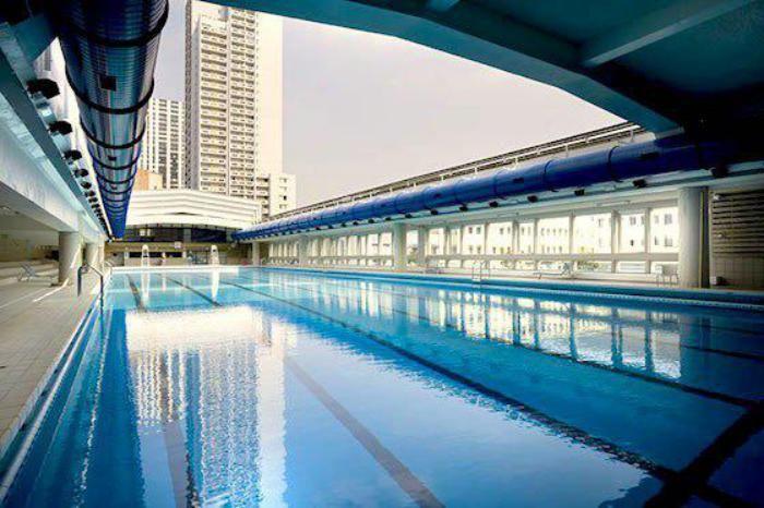 piscine olympique, piscine Keller en France