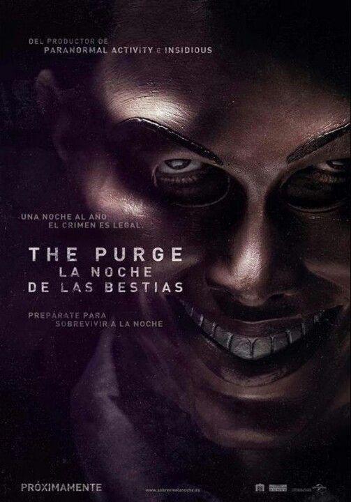 The Purge, la Noche de las Bestias, Yelmo Cines Plaza Mayor http://www.yelmocines.es/cines-malaga/peliculas-en-cartelera-plaza-mayor-3d