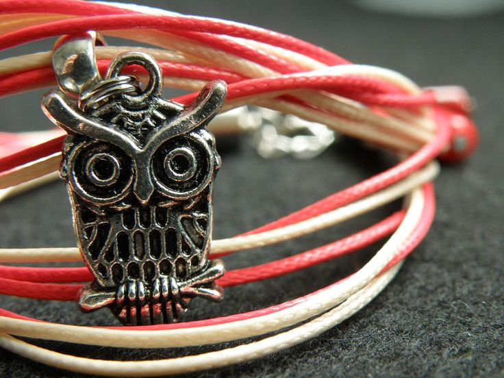 #owl #bracelet #rope #illecebra