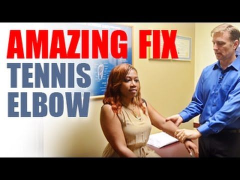 Amazing Fix for Tennis Elbow: MUST WATCH! - YouTube