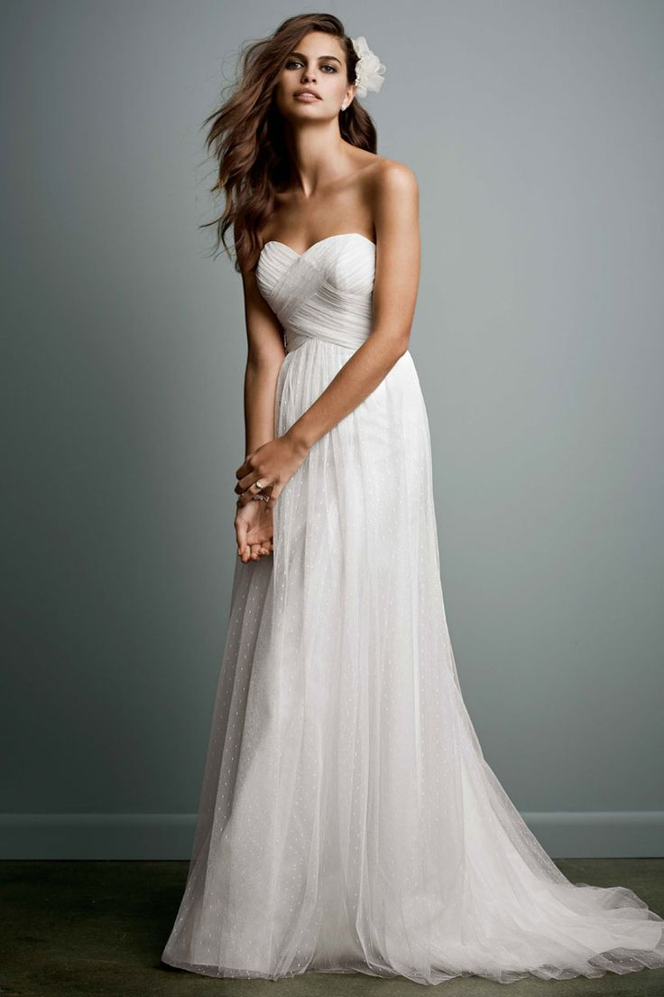 love the simple elegance of this dress. might be another possibility for my destination wedding!