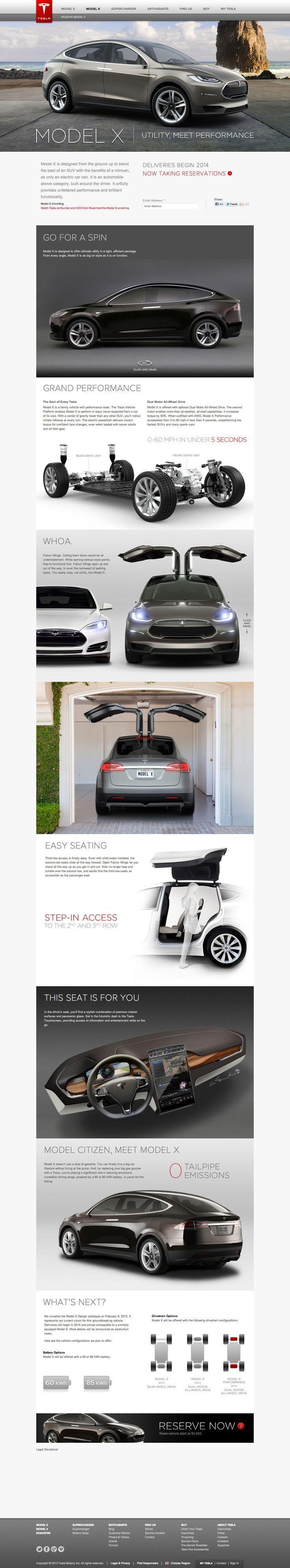 #Tesla Model X