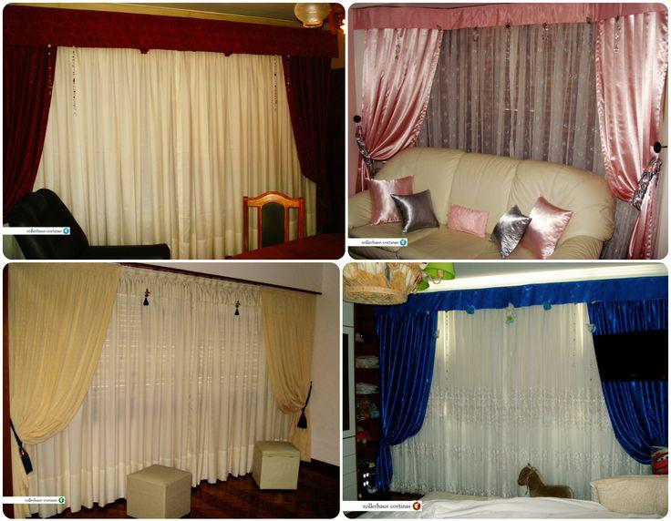 Clásicas y delicadas cortinas para tu hogar. https://www.facebook.com/rollerhauscortinas Asesoramiento y presupuestos sin cargo en rollerhauscortinas@outlook.com