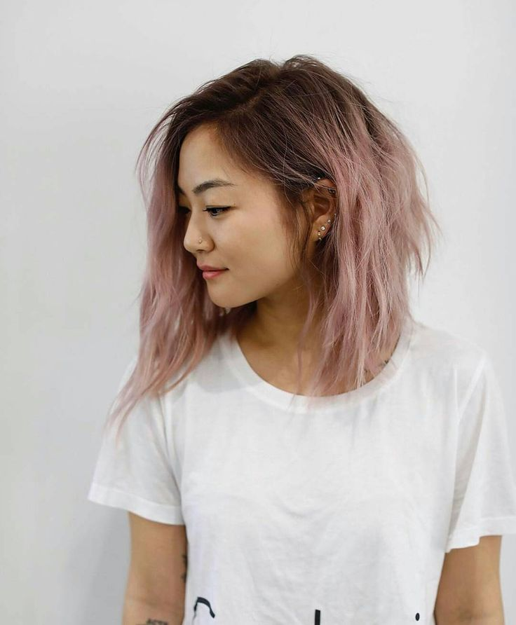 "5,738 Likes, 28 Comments - Linh PhanHAIRSTYLIST,COLORIST (@bescene) on Instagram: ""BLUSH & LIVED IN • @jk.tat  cut: @anhcotran color: #BESCENE.  #schwarzkopf #brazilianbondbuilder…"""