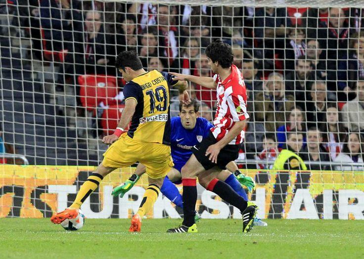 Gol de Diego Costa. Empata el partido