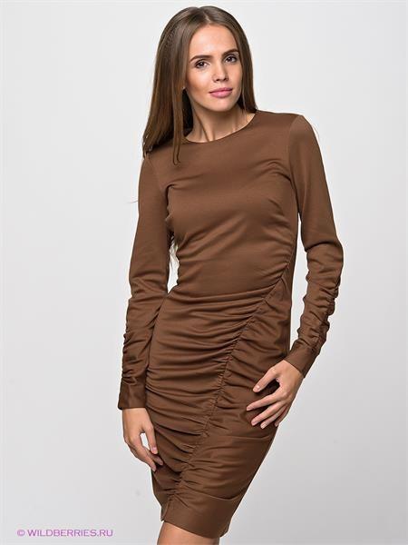 Сатин платье