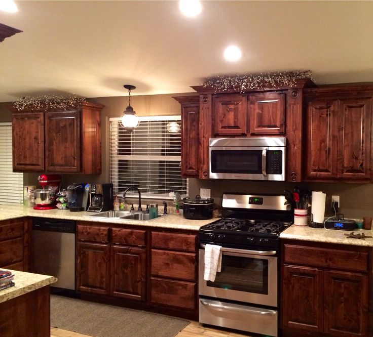 Knotty Alder Cabinets: 16 Best My House Images On Pinterest
