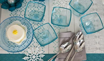 If you usually entertain with paper plates and napkins, the holidays are the ideal time to upgrade to the real thing.