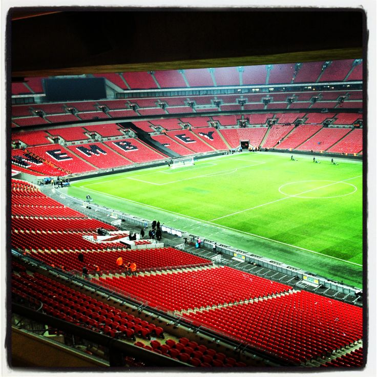 """Wembley Stadium. Football. London. """"Must See"""" London by Rainforest Café. www.therainforestcafe.co.uk"""