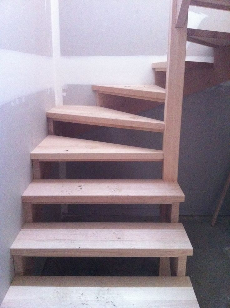 Open Stair with Cut Stringers