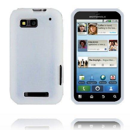 Soft Shell - New Cut (Valkoinen) Motorola Defy Silikonisuojus