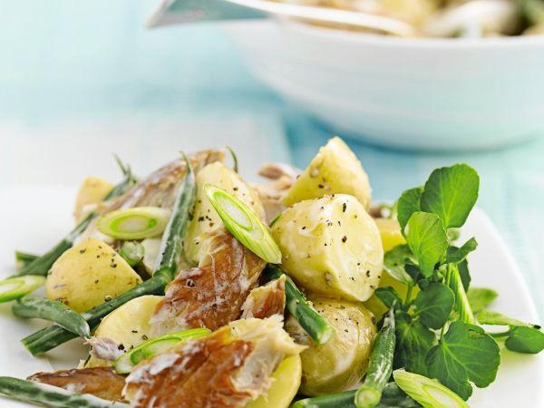 Aardappelsalade met makreel en boontjes - Libelle Lekker!
